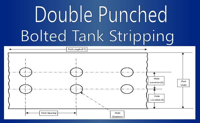 Double Punched Tank Stripping